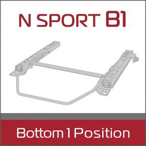 N SPORT B1 Bottom 1 Position シートレール