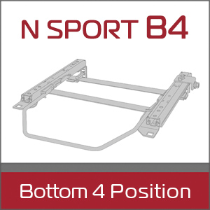 N SPORT B4 Bottom 4 Position シートレール