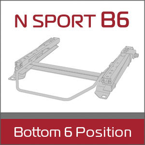 N SPORT B6 Bottom 6 Position シートレール