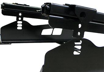 N SPORT S36 Side 6×6 Position シートレール ディテール